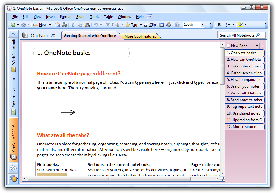 Ms Office Notes